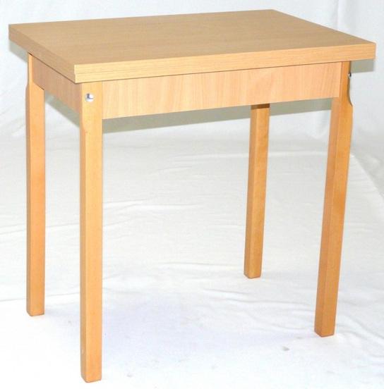 Konyhai I. nagyobbitható asztal laminált 50x75/100