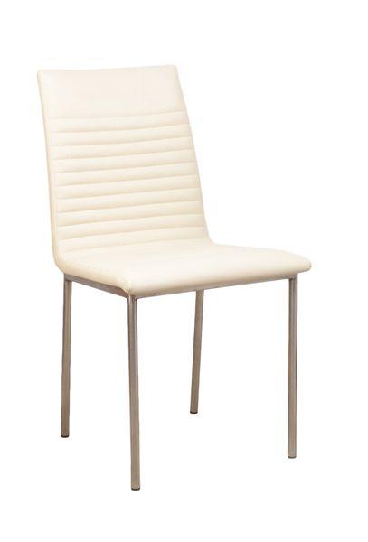 Duna szögletes fémvázas kárpitozott szék