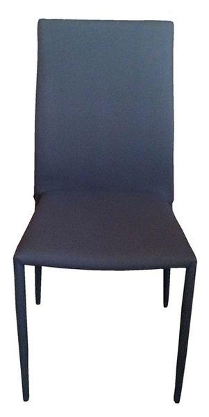 MF-5790 fémvázas rakásolható kárpitozott szék szürke szövet