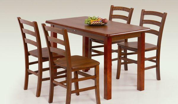 Dinner nagyobbítható asztal antik cseresznye, 68x120/158