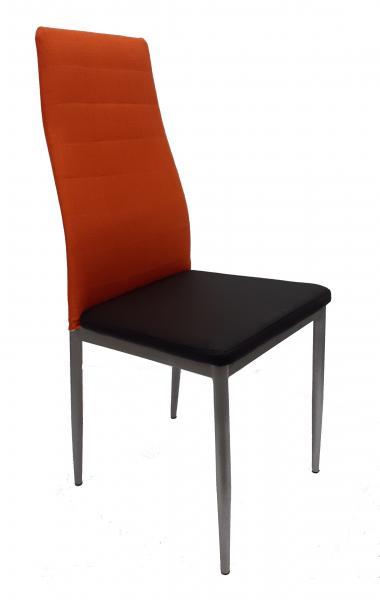 F261-3 fémvázas kárpitozott szék