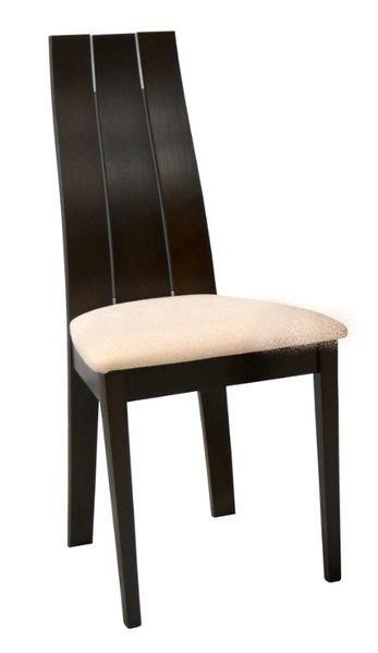 Rocco 4 db-os kárpitozott szék szett wenge, beige