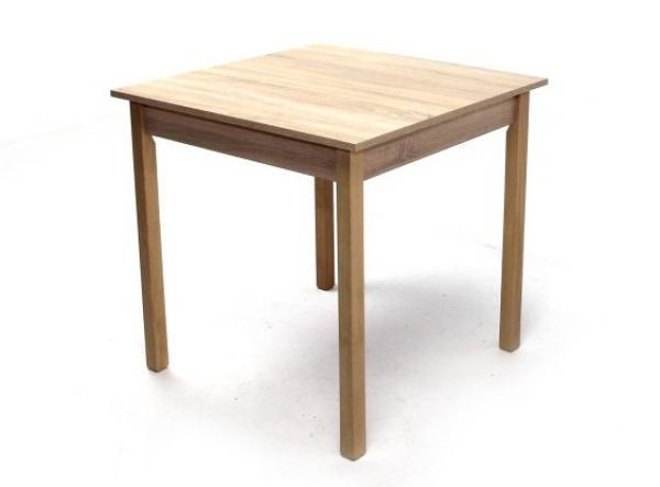 Éttermi asztal laminált 80x80 fix