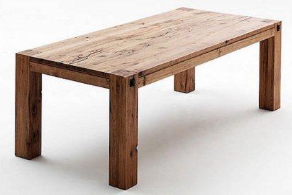 Leeds tömör tölgyfa asztal