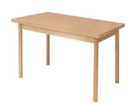 Villás IV. nagyobbitható asztal laminált 80x80/140