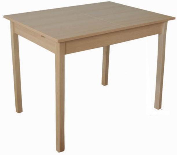 Huba nagyobbitható asztal/18 mm laminált 70x100/130