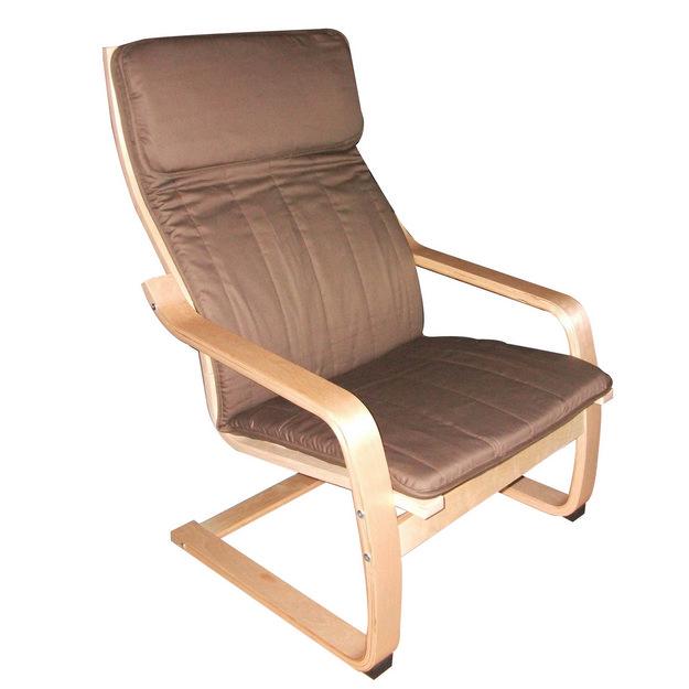 MF-4902 relax fotel natúr, barna szövet