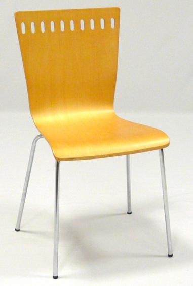 Ica AB-007 lemezelt szék natúr