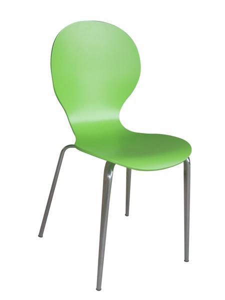 Shell (MF-2616) rakásolható lemezelt szék zöld