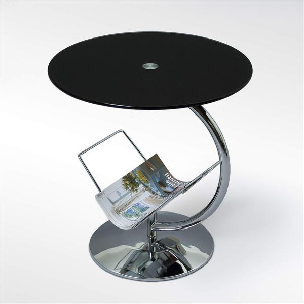 Alma dohányzó asztal üveglapos 45/50