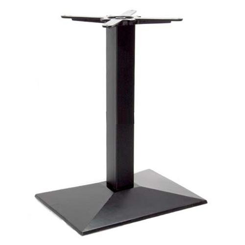 Hartford asztallábazat fekete 55x40 sima