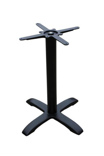 GF-2104 asztalláb 4 ágú fekete