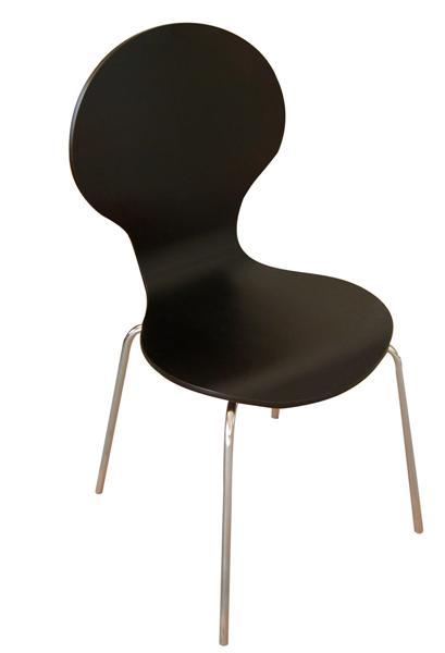 Shell (MF-3259) rakásolható lemezelt szék wenge